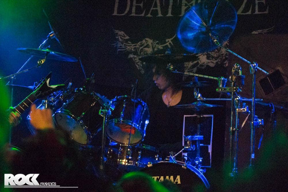 Deathgaze live in der Werkstatt Köln