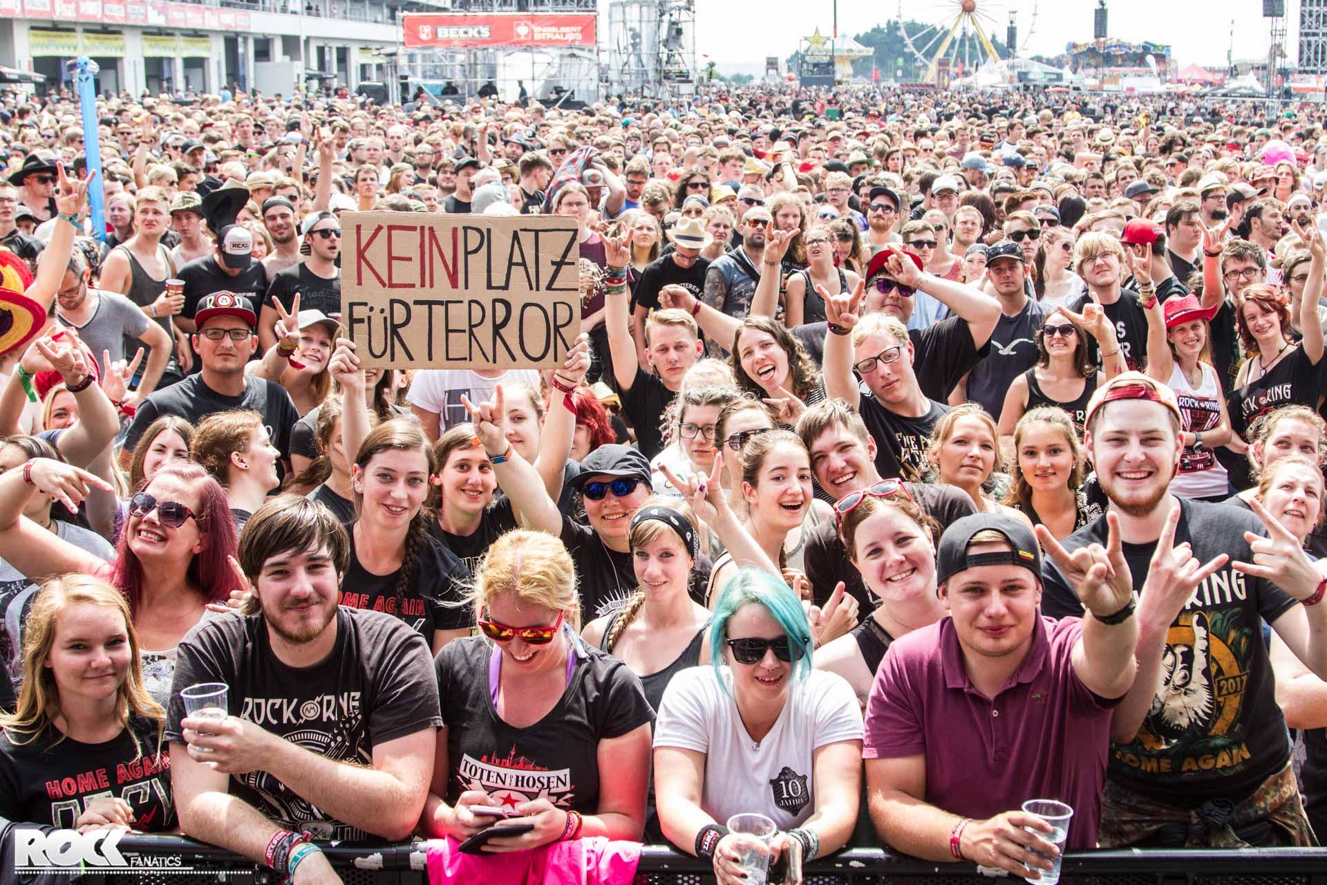Donots at Rock am Ring 2017 // Foto: Kirsten Otto