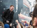 Frank Carter and the Rattlesnakes at Rock Am Ring 2017 // Foto: Kirsten Otto