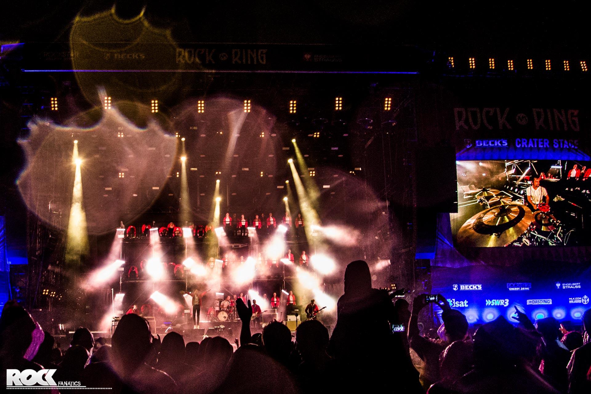 Kraftklub bei Rock am Ring 2017 // Foto: Kirsten Otto