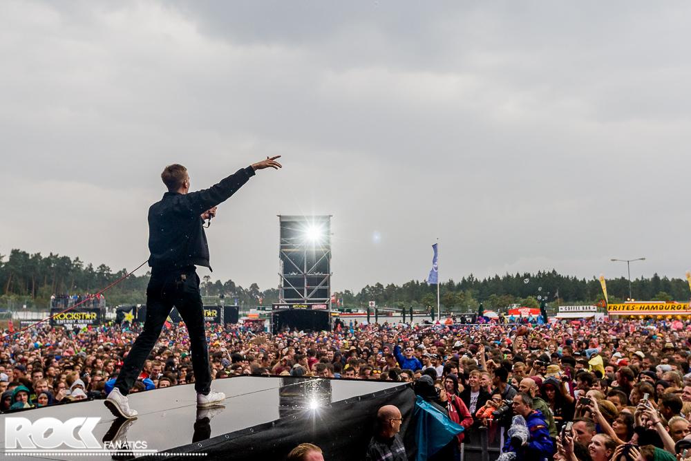 Konzert - Kraftklub bei Rock n Heim 2015