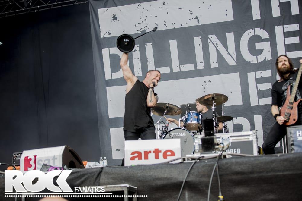 Fotos: The Dillinger Escape Plan - Hurricane Festival 2014