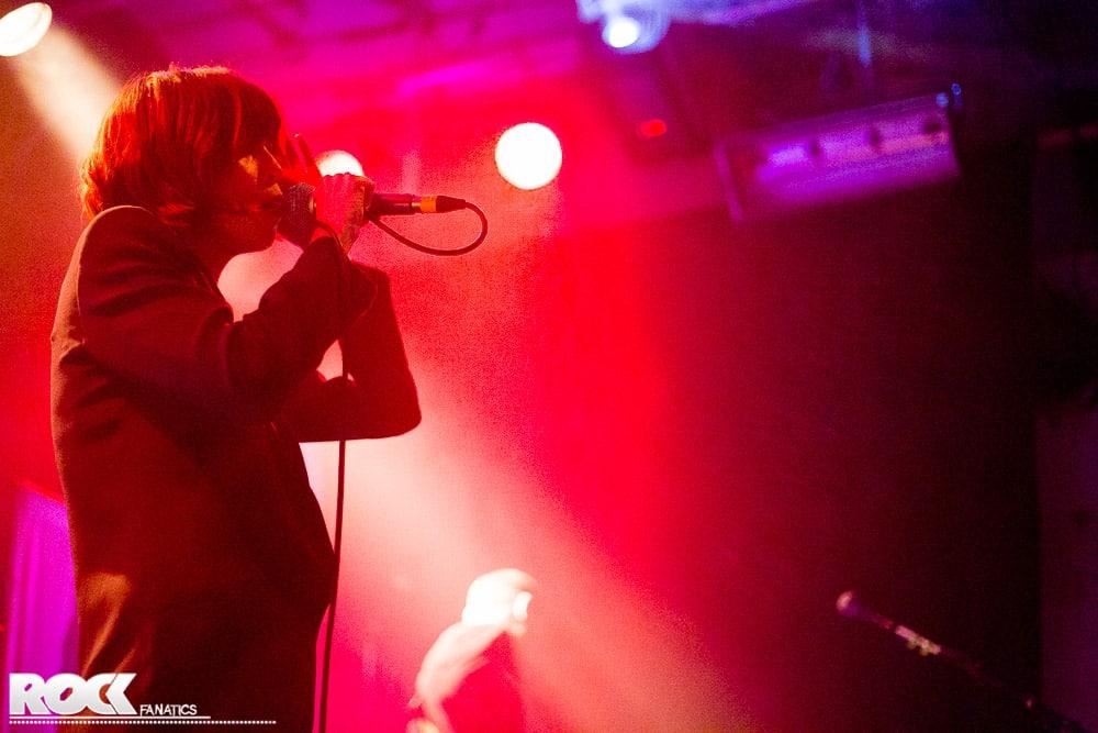 Die australische Rockband The Jezabels live im Gebäude 9 in Köln.