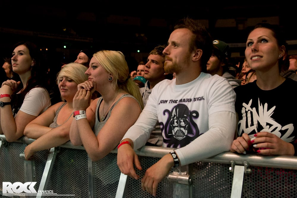 Zebrahead live als Support von Blink 182 in der Westfalenhalle 1 in Dortmund.