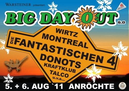 BIG DAY OUT 6.0