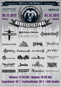Metal for Mercy 2012
