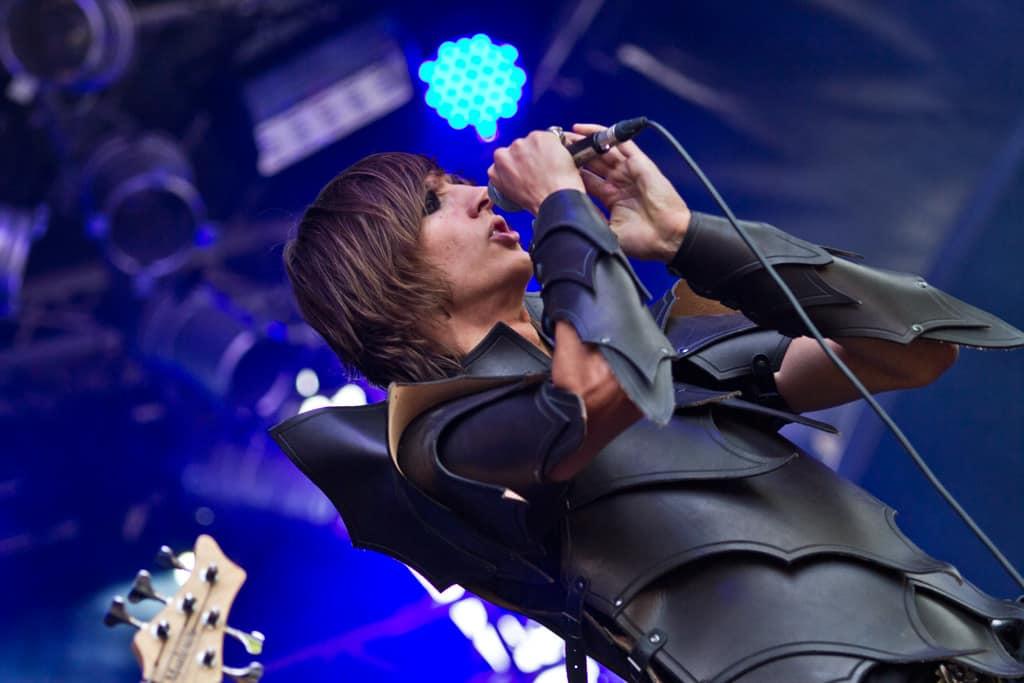 Schwarzer Engel - Castle Rock Festival 2012