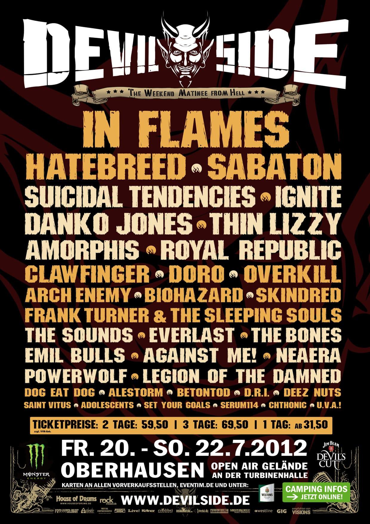 Fotos: Devilside Festival 2012