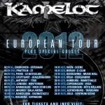 Kamelot kündigen Europa Tour für 2012 an!