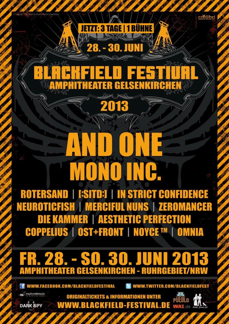 Blackfield Festival kündigt 4 weitere Bands an