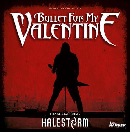 Bullet for my Valentine - Deutschlandkonzert im März 2013