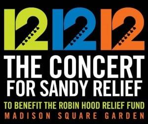 12-12-12 Benefizkonzert im Madison Square Garden