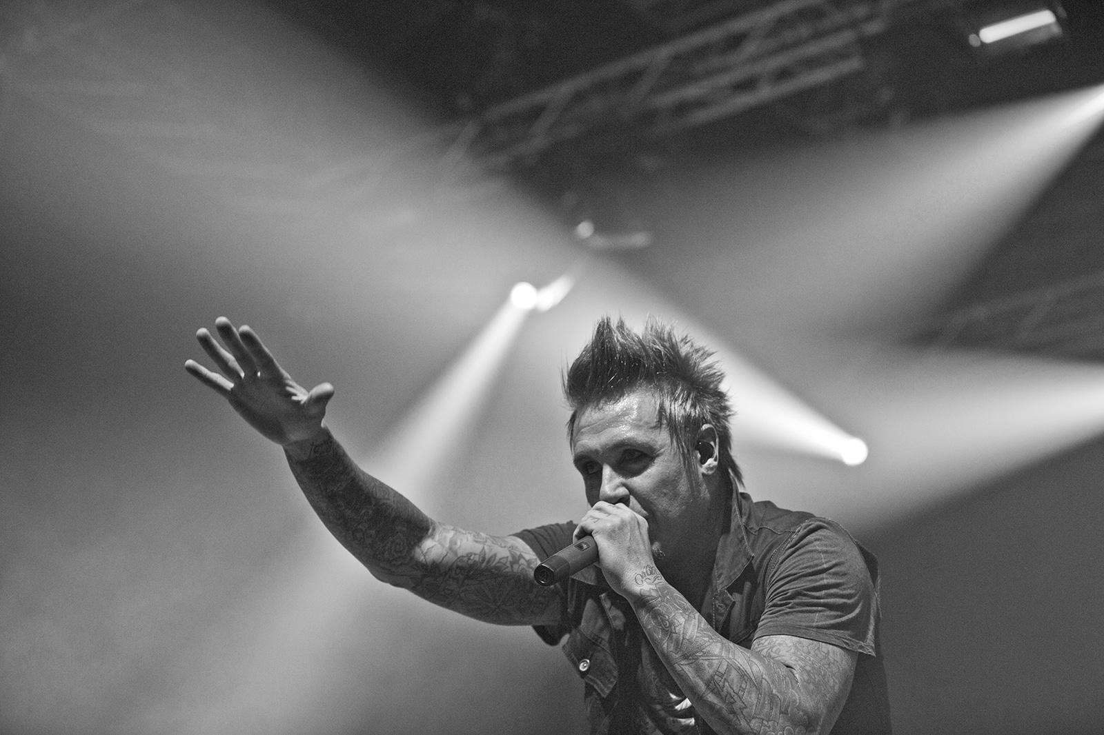 Papa Roach - Turbinenhalle Oberhausen - 06.12.12