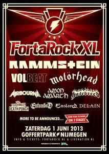 Bands für FortaRock XL bestätigt