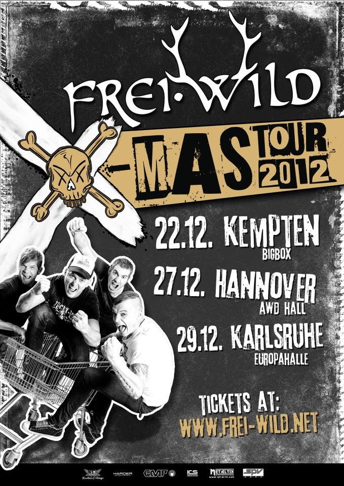 Frei.Wild XMAS Tour 2012
