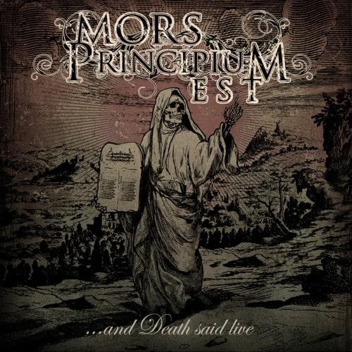 """MORS PRINCIPIUM EST: das komplette neue Album """"… And Death Said Live"""" im Stream!"""