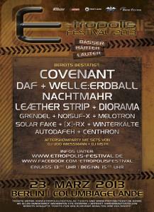 E-Tropolis Festival 2013