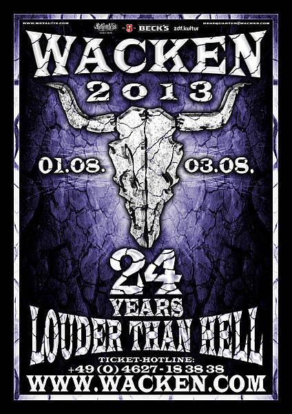 Wacken – 24 Years louder than hell !