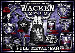Wacken: Full Metal Bag 2013