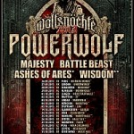 Powerwolf - Tour 2013