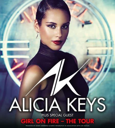 Alicia Keys - Girl On Fire - The Tour 2013