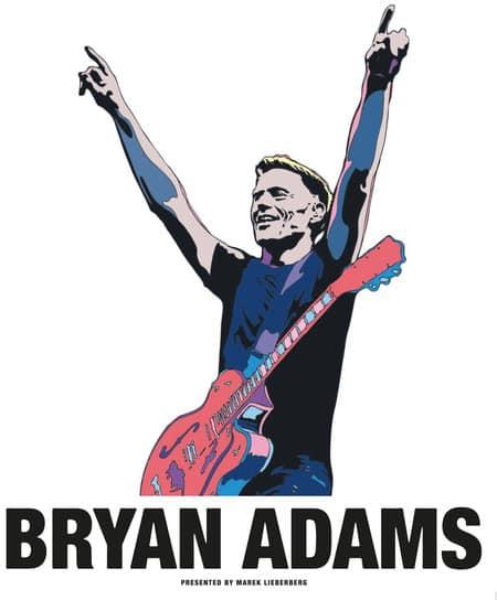 Bryan Adams - Tour im Sommer 2013