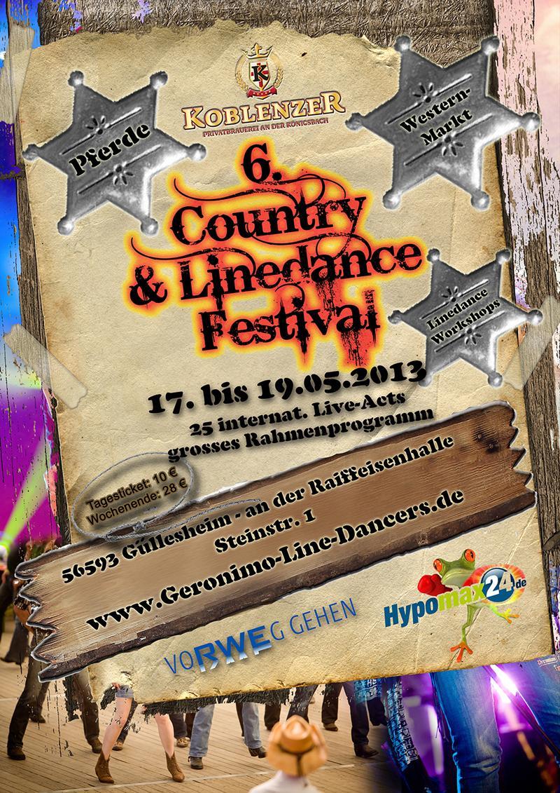 6. Country & Line Dance Festival in Güllesheim