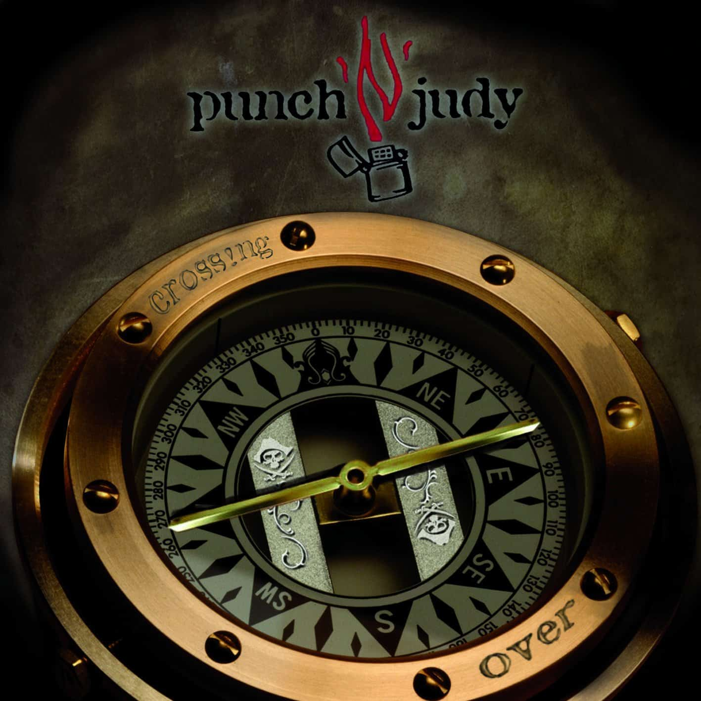 "Cover des Punch'n'judy Albumgs "" Cross!ng Over"""