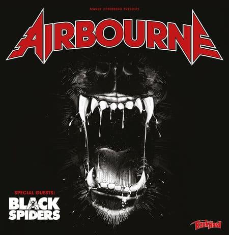 Airbourne Tour im Herbst mit Special Guest Black Spiders