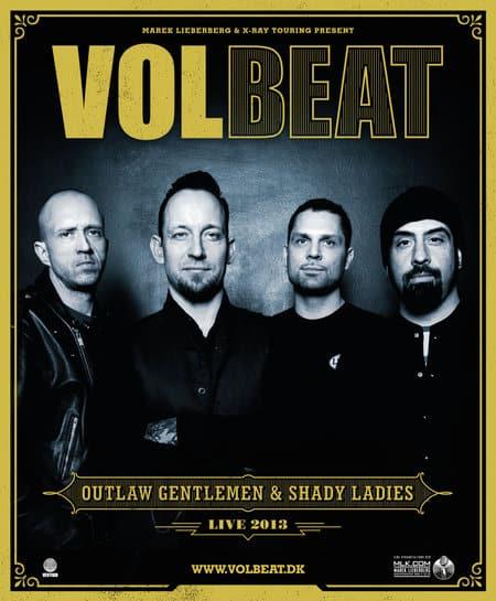 Volbeat im Herbst auf Outlaw Gentlemen & Shady Ladies Tour