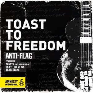 Anti-Flag Toast To Freedom