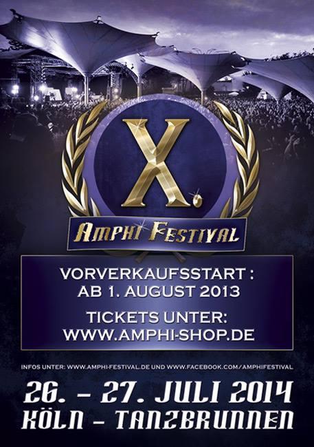 Amphi Festival 2014 - 5+1 Tickets ausverkauft!