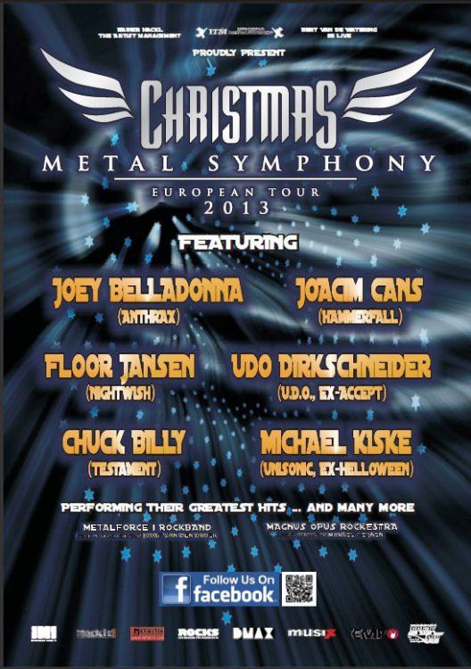 Christmas Metal Symphony - Europatournee 2013