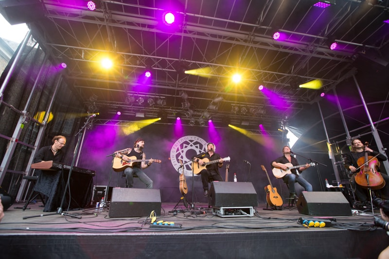 Fotos: Eric Fish and friends - Burgfolk Festival 2013