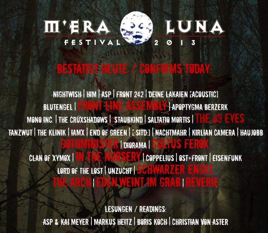 Mera Luna 2013 - Fotos