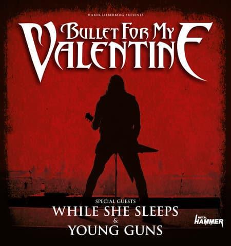 Bullet For My Valentine - Exklusivkonzert in Köln