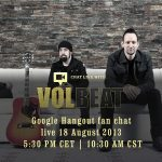 Google Hangout Chat mit Volbeat!