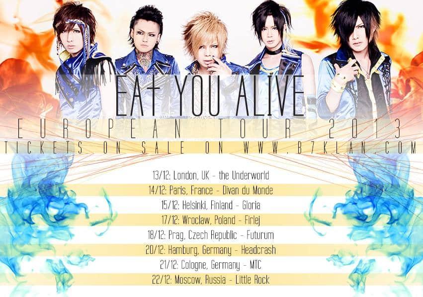 Eat you alive - Europa Tour 2013
