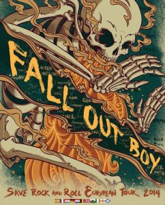 Fall Out Boy Tour 2014