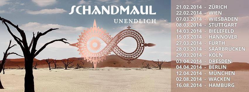 Schandmaul - Tournee 2014