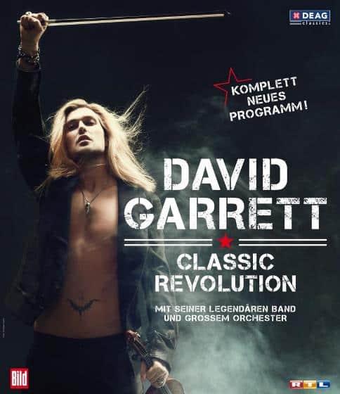 "David Garrett - Crossover Tour ""Classic Revolution"""