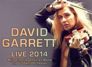 David Garrett Live 2014