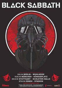 Black Sabbath Tour 2014
