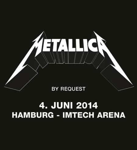 Metallica By Request - Exklusive Show in Hamburg