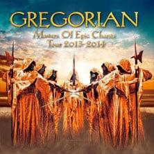 Gregorian - Tourankündigung 2014