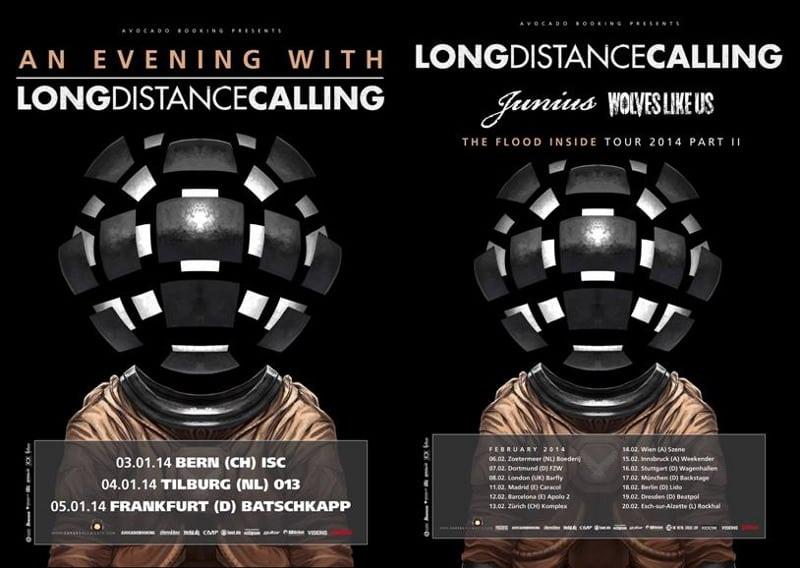 Long Distance Calling - Tour 2014