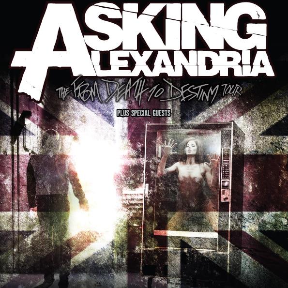 Asking Alexandria - Tournee 2014