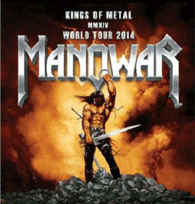 """MANOWAR kommen mit Ihrer """"Kings Of Metal MMXIV Welttour"""" nach Deutschland zurück"""