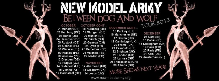 New Model Army - Weihnachtskonzert 2013