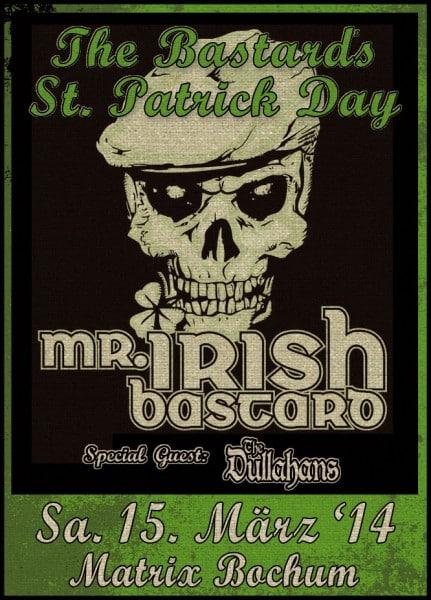 Mr. Irish Bastard - Bochum März 2014